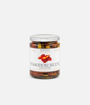 Barattoli Don'Cola: pomodori secchi con capperi siciliani