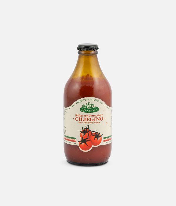Salsa con pomodoro ciliegino