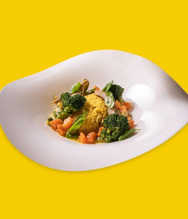Cous Cous siciliano vegetariano