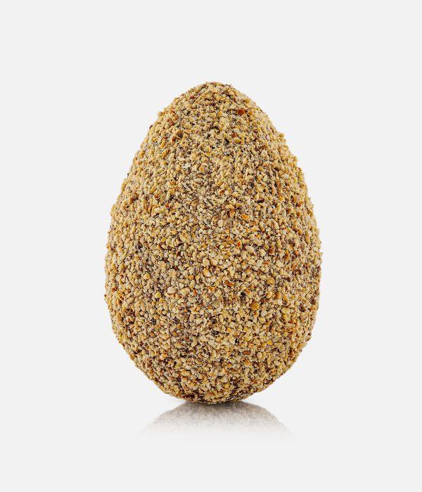 Uovo di Cioccolato finissimo al Latte ricoperto di Nocciole 0.50 Kg
