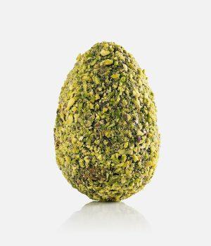 Uovo di cioccolato con granella di pistacchio Don'Cola